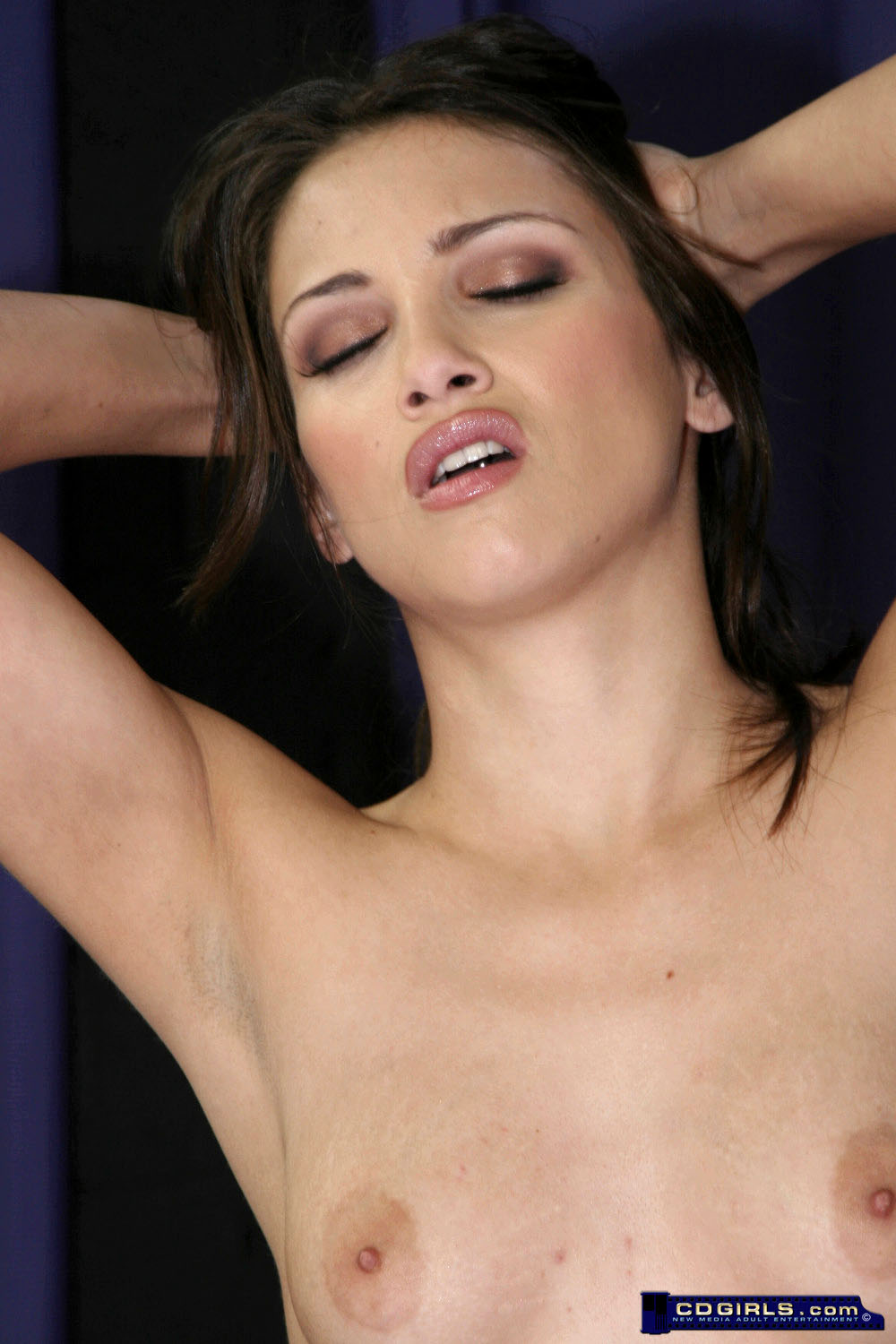 Celeste's orgasm filled Sybian ride image #2